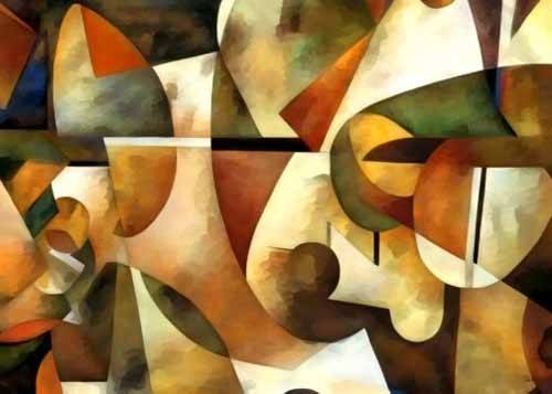 tableaux-abstraits - Tableau -Moderno CM1284- - Medeiros, Celito