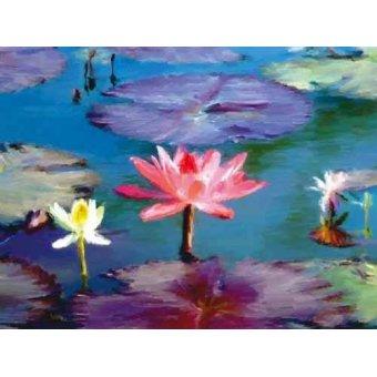 Tableaux de Fleurs - Tableau -Moderno CM1369- - Medeiros, Celito