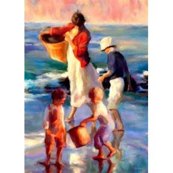 Tableaux de paysages marins - Tableau -Moderno CM1397- - Medeiros, Celito