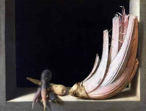 tableaux-nature-morte - Tableau -Bodegón del cardo- - Cotan, Juan Sanchez