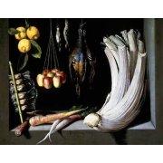 Tableau -Caza, fruta y hortalizas -