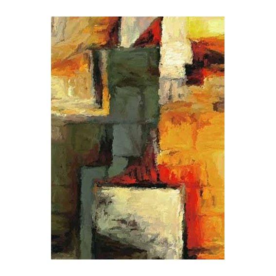 pinturas abstratas - Quadro -Moderno CM1719-