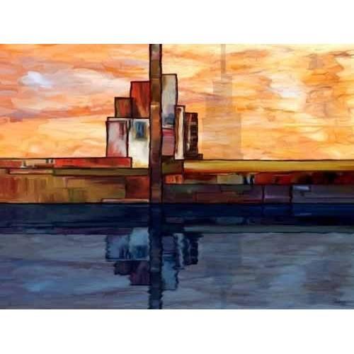 pinturas abstratas - Quadro -Moderno CM1795-