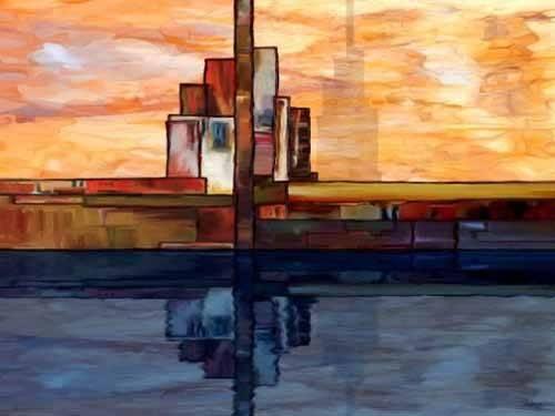 tableaux-abstraits - Tableau -Moderno CM1795- - Medeiros, Celito