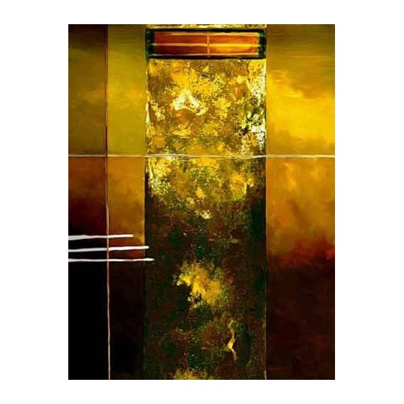 pinturas abstratas - Quadro -Moderno CM2011-