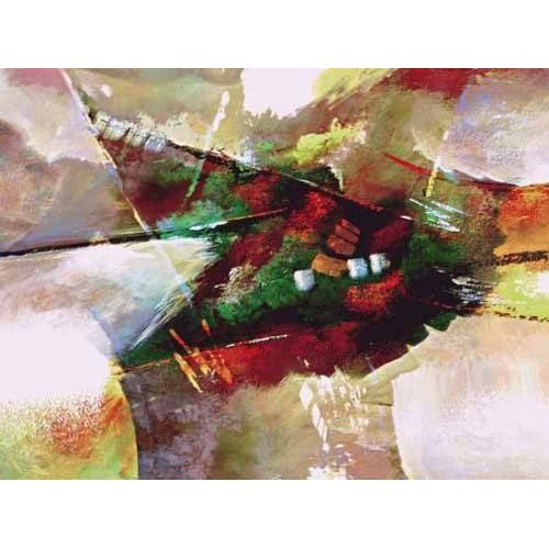 pinturas abstratas - Quadro -Moderno CM2019-