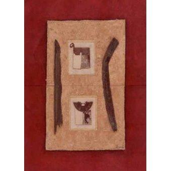 Tableaux orientales - Tableau -Moderno CM2272- - Medeiros, Celito