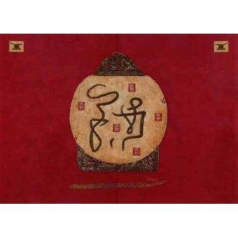 Tableaux orientales - Tableau -Moderno CM2274- - Medeiros, Celito