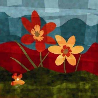 Tableaux de Fleurs - Tableau -Moderno CM2528- - Medeiros, Celito