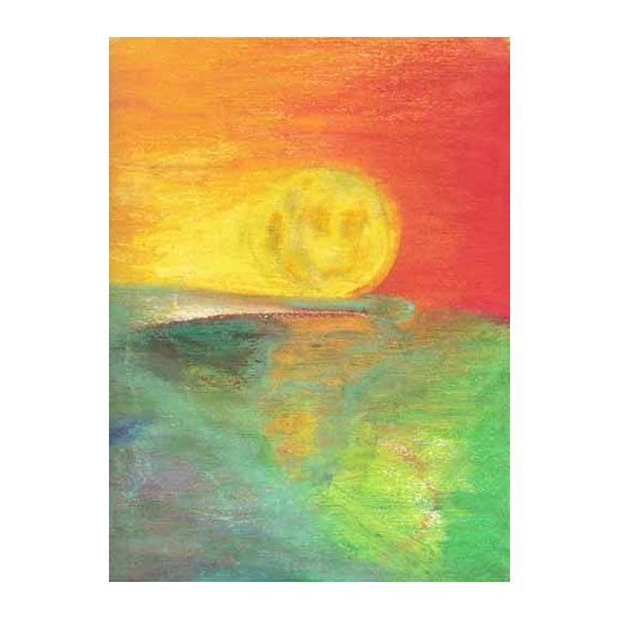 pinturas abstratas - Quadro -Abstracto Atardecer_11-