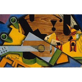 Tableau -Still Life with a Guitar-