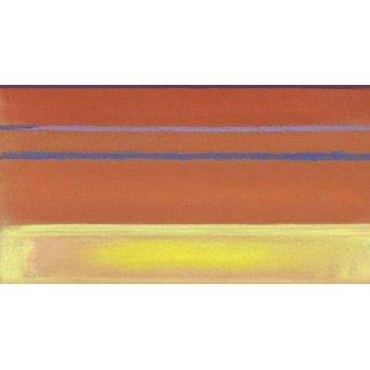 Tableaux abstraits - Tableau -Abstrait M_R_0_1- - Molsan, E.