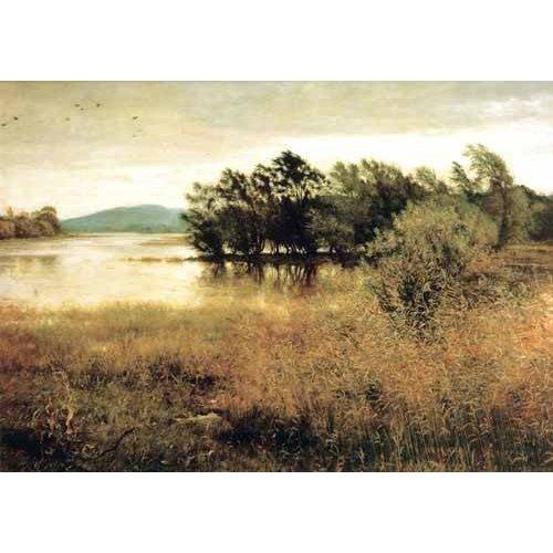 pinturas de paisagens - Quadro -Chill October-