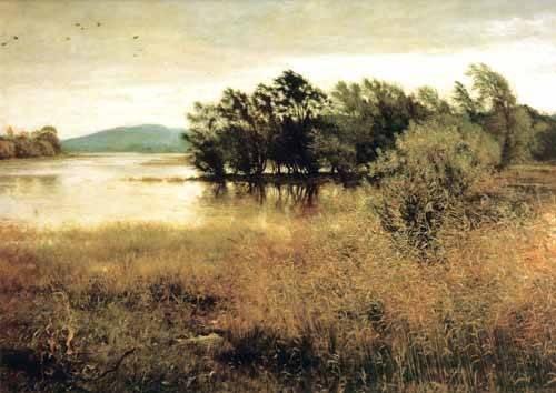 tableaux-de-paysages - Tableau -Chill October- - Millais, John Everett