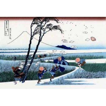 Tableaux orientales - Tableau -Ejiri in the Suruga province- - Hokusai, Katsushika