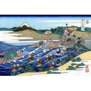 Tableau -The Fuji from Kanaya on the Tokaido-