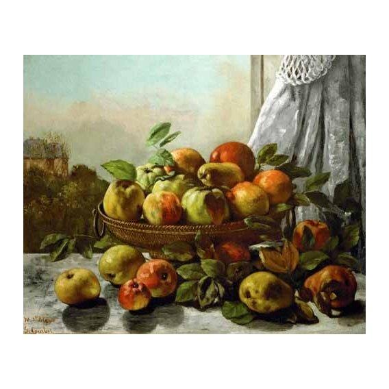 naturezas mortas - Quadro -Bodegon con frutas-