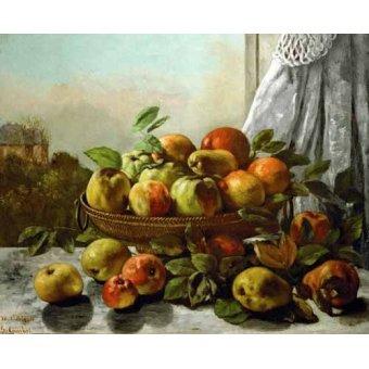 Tableaux nature morte - Tableau -Bodegon con frutas- - Courbet, Gustave