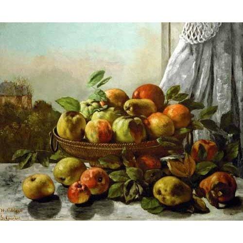 Tableau -Bodegon con frutas-