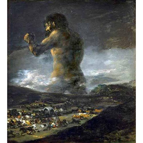 pinturas do retrato - Quadro -El Coloso-