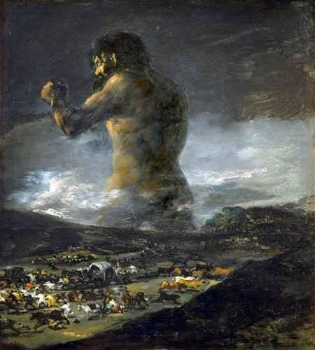 tableaux-de-personnages - Tableau -El Coloso- - Goya y Lucientes, Francisco de