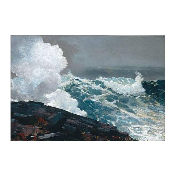 pinturas de paisagens marinhas - Quadro -Northeaster-