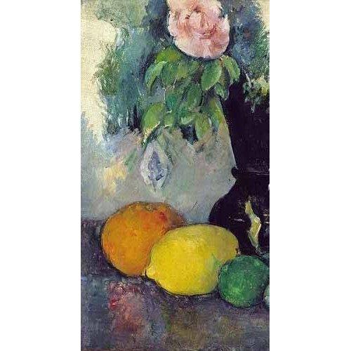 Tableau -Fleurs et fruits (1886)-