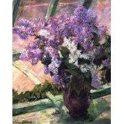 Tableau -Lilacs in a Window, 1880-