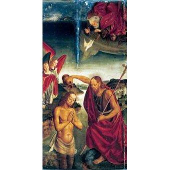 Tableaux religieuses - Tableau -Bautismo De Cristo- - Berruguete, Pedro