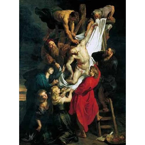 Tableau -Triptco. Descendimiento de La Cruz (Panel Central)-