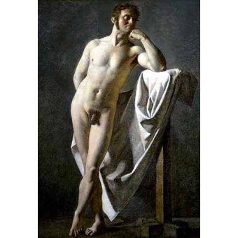 Tableaux de Nus - Tableau -Estudio anatómico de un hombre- - Ingres, Jean-Auguste-Dominique