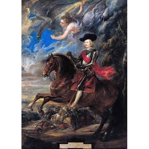 Tableau -Don Fernando de Austria en la batalla de Nordlingen-