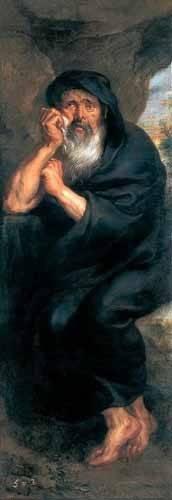 tableaux-de-personnages - Tableau -Heráclito, el filosofo que llora- - Rubens, Peter Paulus