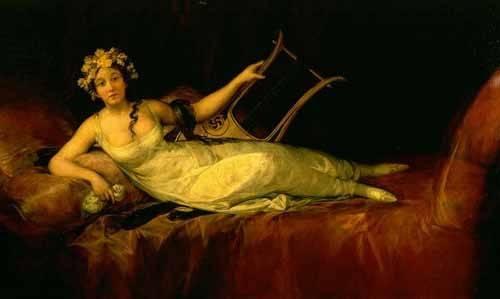 tableaux-de-personnages - Tableau -Retrato de la Marquesa de Santa Cruz- - Goya y Lucientes, Francisco de