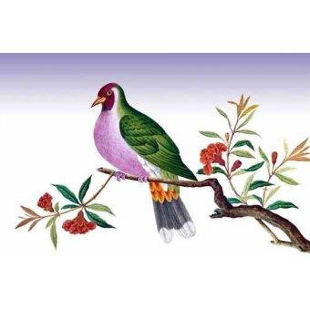 Tableaux de faune - Tableau -Pajaro sobre una rama- - _Anónimo Chino