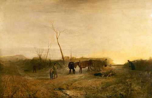 tableaux-de-paysages - Tableau -Mañana glacial- - Turner, Joseph M. William