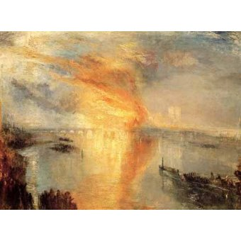 Tableau -The burning of the house of L-
