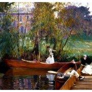 Tableau -Fiesta en el rio-