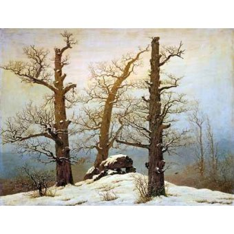 Tableau -Megalithic Caim In The Snow-