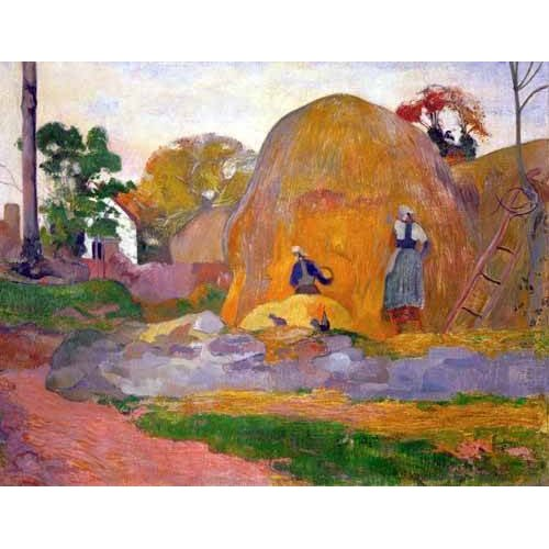 Tableau -The yellow haystack, 1889-