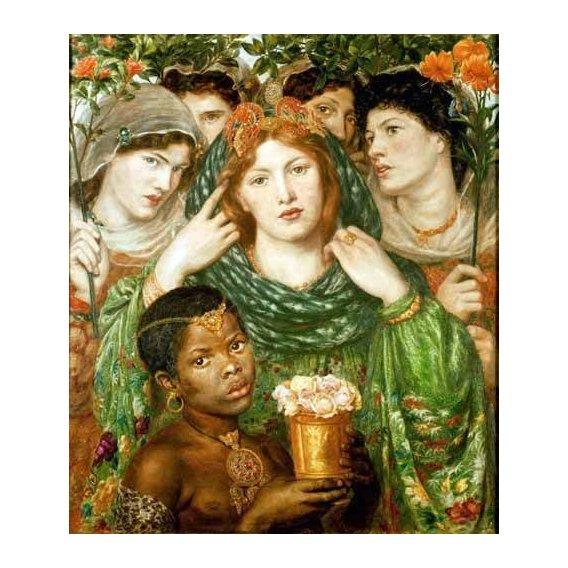 pinturas do retrato - Quadro -The Beloved-