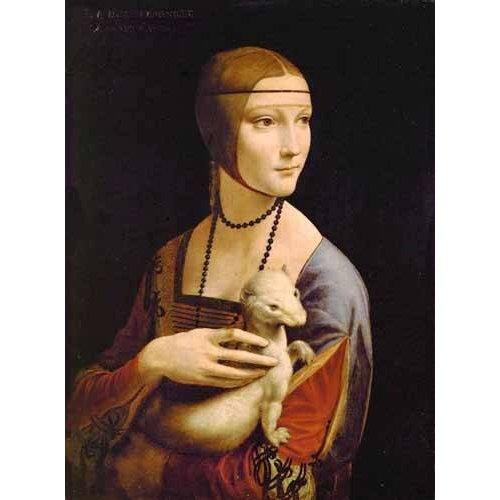 Tableau -Dama con un armiño-