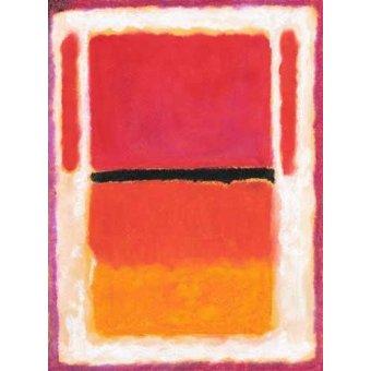 Tableaux abstraits - Tableau -Abstrait M_R_71- - Molsan, E.