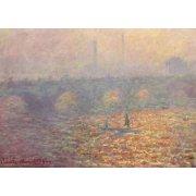 Tableau -Le Pont de Waterloo, 1900-