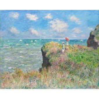 Tableaux de paysages marins - Tableau -Etretat- - Monet, Claude