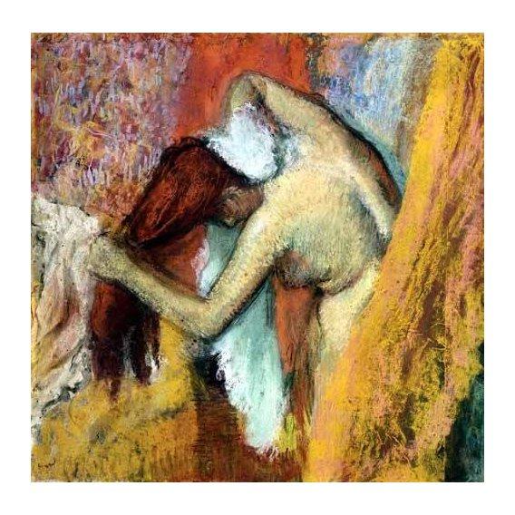 quadros decorativos - Quadro -Mujer aseándose, 1894-