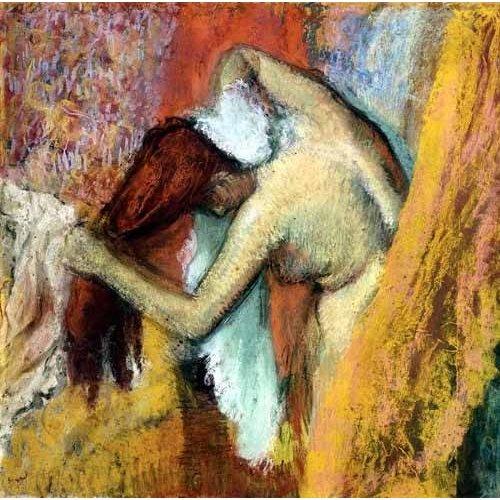 Tableau -Femme à laver, 1894-