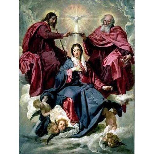 Tableau -Coronacion de la Virgen-