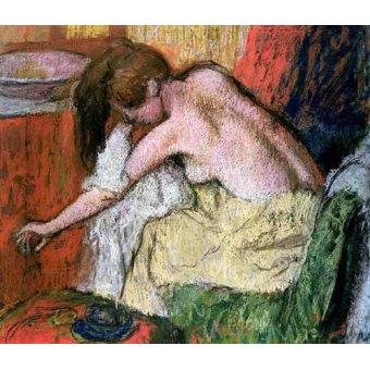 Tableaux de Nus - Tableau -Femme se séchant, 1888- - Degas, Edgar