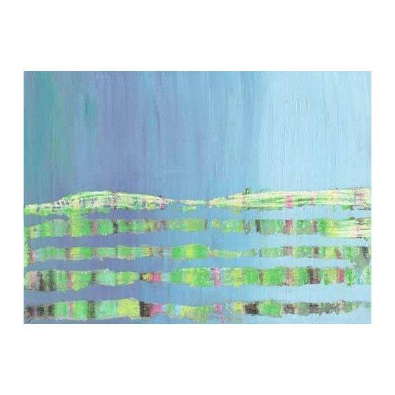 pinturas abstratas - Quadro -Abstracto Stream (I).-